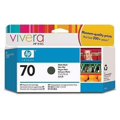 Tusz HP 70 matte black (130ml) Vivera C9448A