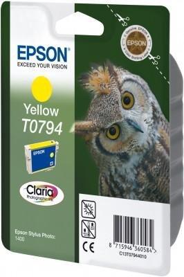 Wkład Yellow do Epson Stylus Photo 1400, T0794