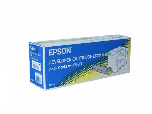 Toner yellow do Epson AcuLaser C900, C900N, wyd. około 1,5 tys. stron A4 przy 5% pokryciu