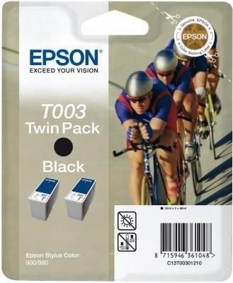 Dwupak tuszy (Ink) T003 black do Epson Stylus Color 900/980, wyd. do 2x1200 str.