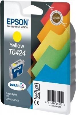 Wkład żółty do Epson Stylus C82 T0424