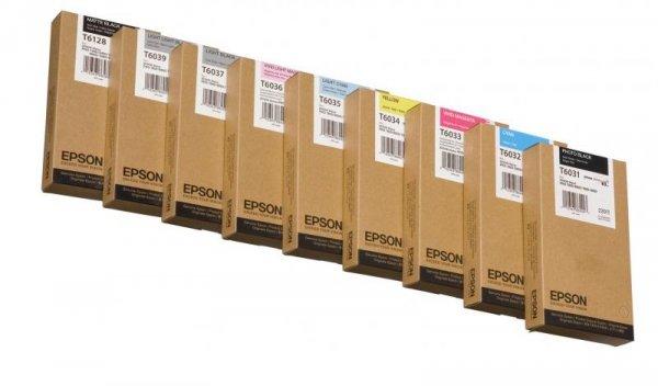 Atrament Yellow 220 ml do Epson Stylus Pro 7800/7880/9800/9880 C13T603400