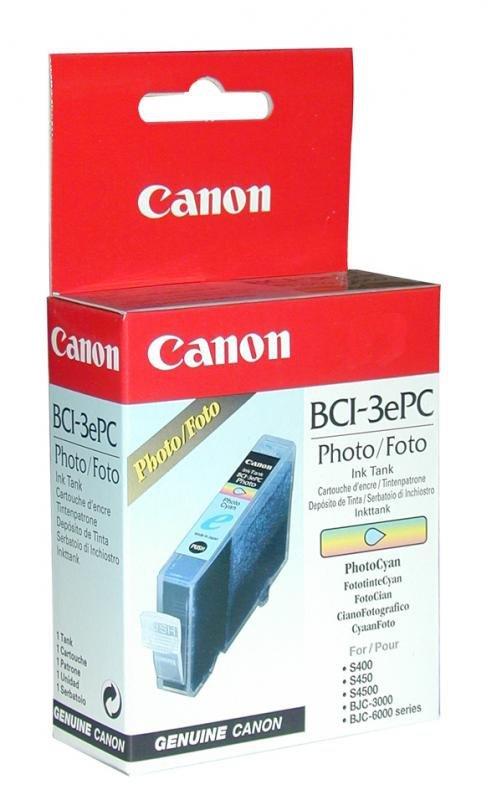Wkład PHOTO Cyan Canon BCI-3PC Jasny Błękit