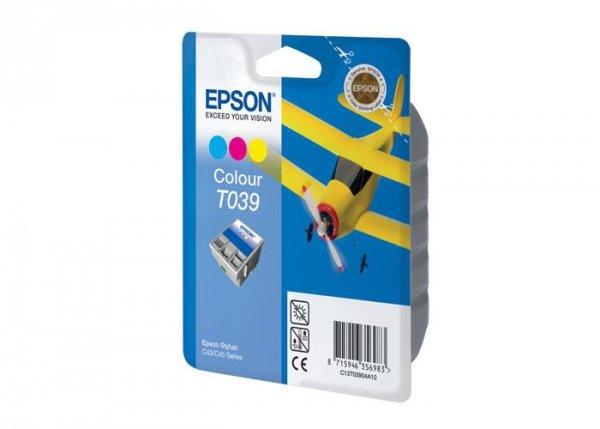 Tusz (Ink) T039 color do Epson Stylus C43SX/C43UX/C45, wyd. do 180 str.