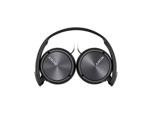 Sony Słuchawki MDR-ZX310 przewodowe nauszne black