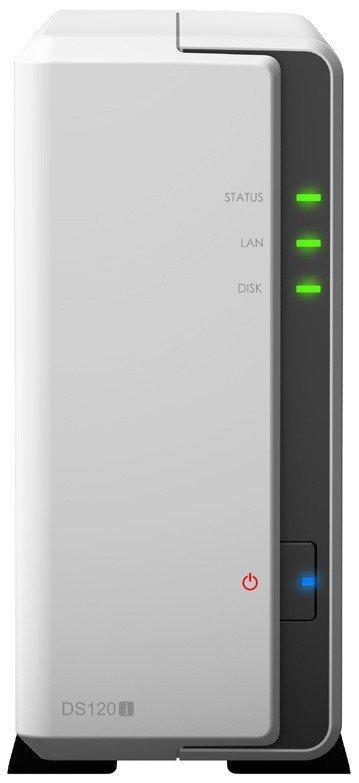 Synology NAS DS120J 1x0HDD 800Mhz 512MB 1xGbE 2xUSB2.0