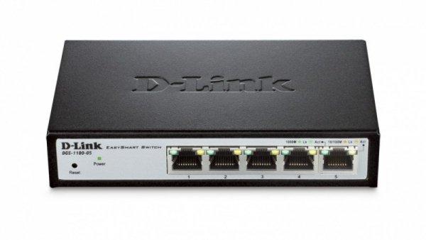 D-Link DGS-1100-05 Switch Smart 5xGbE