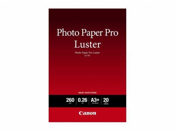 Canon PAPIER FOTO LUSTER LU-101 A3+ 20