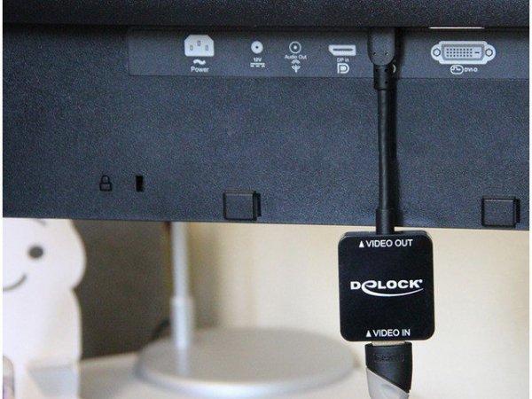 Delock Adapter Displayport 1.2 (M) -> HDMI(F) 4K