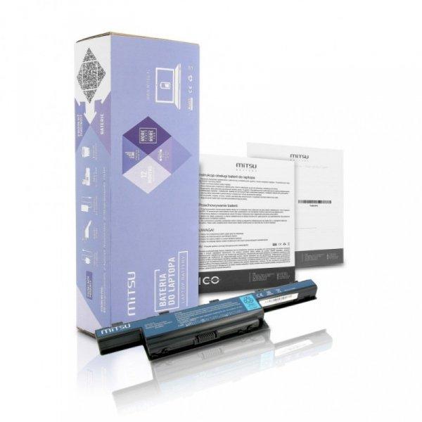Mitsu Bateria do Acer Aspire 4551, 4741, 5741 4400 mAh (48 Wh) 10.8 - 11.1 Volt