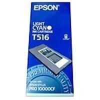 Atrament pigmentowy Light cyan 500ml do Epson stylus Pro 10000CF C13T516011