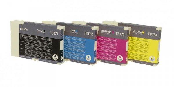 Wkład atramentowy tusz Epson do B500DN Black (czarny) T6171 DURABrite Ultra Ink (high capacity) C13T617100