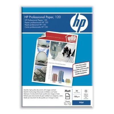 Papier - Professional Inkjet Paper matt, (A4, 120 g/m2, 150 szt.) - Papier matowy. Q6593A