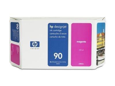 Tusz (Ink) HP 90 magenta (225ml) do DnJ 4000/4000PS/4020/4500/4500PS/4520 C5062A