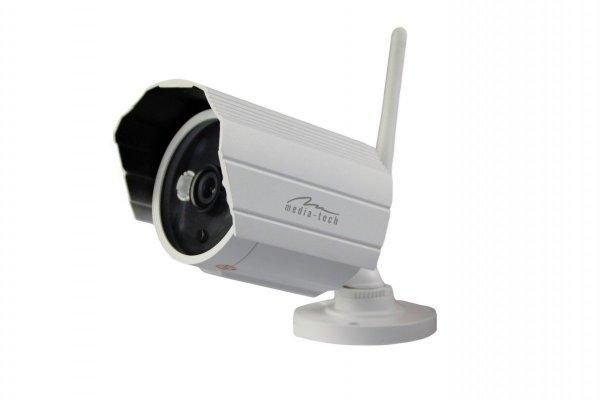 Media-Tech Outdoor Securecam HD Kamera sieciowa WiFi IP do monitorinu wideo (na zewnatrz) MT4052