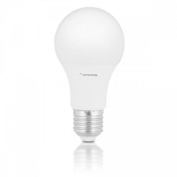 Whitenergy Żarówka LED A60 E27 10W 806lm ciepła biała mleczna