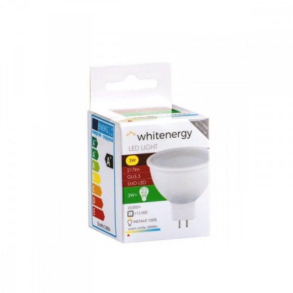 Whitenergy Żarówka LED 6XSMD2835 MR16 GU5.3 3W 217lm ciepła biała mleczna