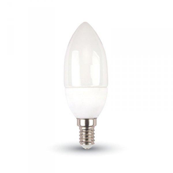 V-tac Żarówka LED VT-2033 E14 37X100MM 3W 6400K 250LM Termo plastik świeczka