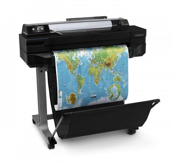 NOWOŚĆ Ploter HP DesignJet T520 24'' (610 mm) CQ890C + 100m papieru GRATIS