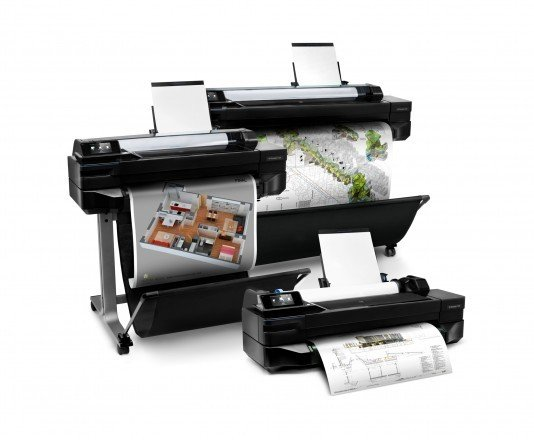 Ploter HP DesignJet T520 36'' (914 mm) CQ893C + 100m papieru i transport GRATIS PLATINUM PARTNER HP 2018