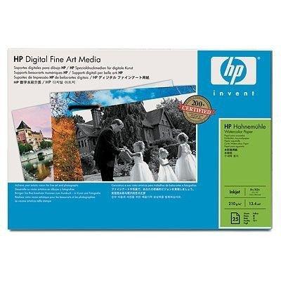Papier HP Digital Fine Art Hahnemuhle Watercolor Paper 210 g/m2-A3+/330 x 483 mm/25ark. Q8729A