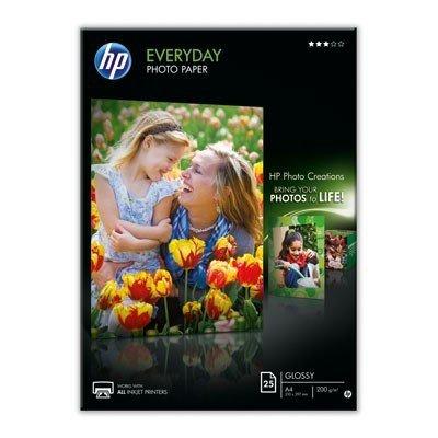 Papier A4, 200g, 25ark. - HP Everyday Photo Paper, glossy, błyszczący, jednostronny Q5451A