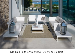 MEBLE OGRODOWE / HOTELOWE