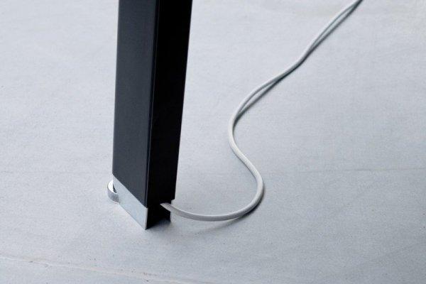 Stół Simplic stopka chrom