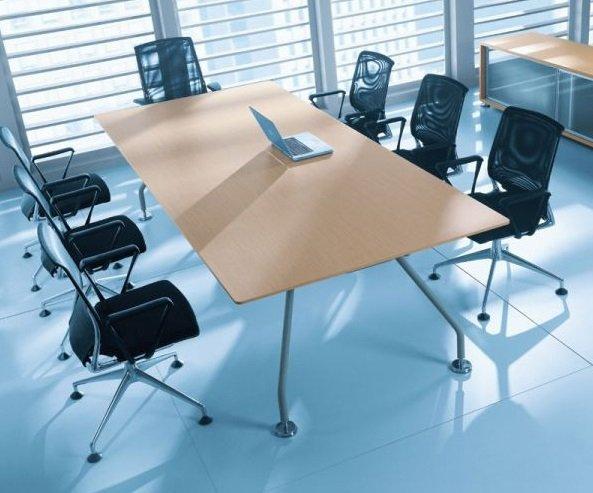 Stół konferencyjny Xeon blat fornirowany