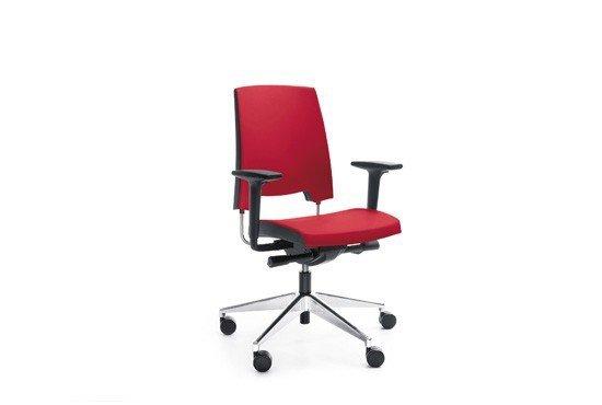 arca 21SL chrom P54 PU fotel obrotowy fotel biurowy krzesło obrotowe krzesło biurowe PROFIM Biurokoncept