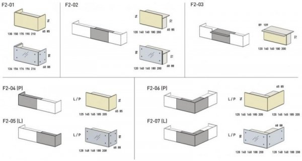 LADA RECEPCYJNA FURONTO BIAŁA LAKIER POŁYSK F2-04 + F2-05 + 2F2-27 + 2F2-29