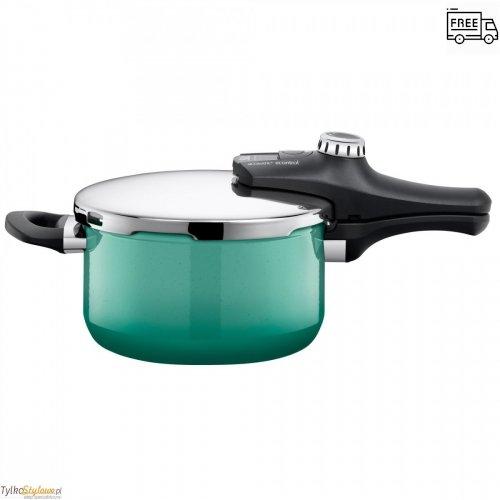 Szybkowar Silit Nature Green Sicomatic Econtrol - 22 cm-4.5 L-8