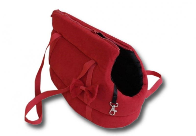 Torba transporter dla Psa - Czerwona