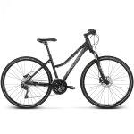Rower Kross Evado 7.0 28 czarny-niebieski mat