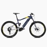 Rower elektryczny Haibike SDURO FullSeven 7.0 27,5 niebieski-srebrny-cytryna mat