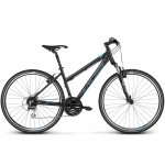 Rower Kross Evado 3.0 28 czarny-niebieski mat