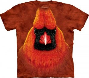 T-SHIRT THE MOUNTAIN RED CARDINAL PORTRAIT 10-3530