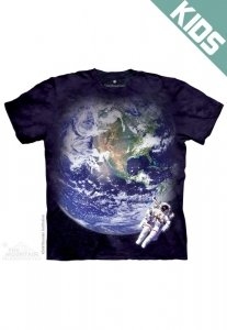 Koszulka dziecięca THE MOUNTAIN ASTRO EARTH 15-8354