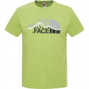 T-shirt męski The North Face S/S Mountain Line Tee