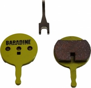 Klocki hamulcowe Baradine DS-38S+SP-38 Avid BB5