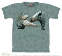 Koszulka THE MOUNTAIN GET TO THE POINT 10-2049 nosorożec