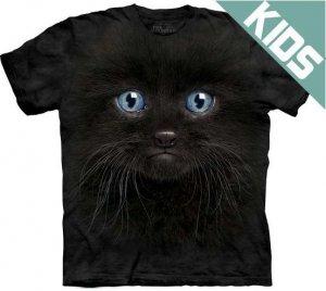 Koszulka dziecięca THE MOUNTAIN BLACK KITTEN FACE 15-3503