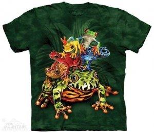 Koszulka dziecięca The Mountain Frog Pile 15-3997