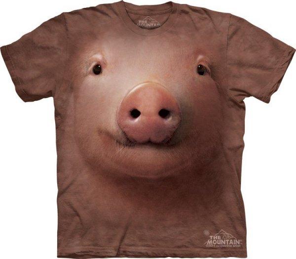 KOSZULKA T-SHIRT THE MOUNTAIN PIG FACE 10-3244