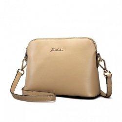 Klasyczna torebka na ramię Beżowa