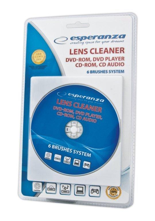 Esperanza Płytka czyszcząca do CD/DVD/Blue Ray ES117