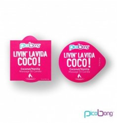 Picobong Świeca do masażu - kokosowo-waniliowa