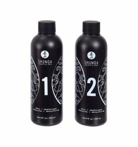 Shunga - Strawberry & Champagne Massage Gel 2 x 250 ml