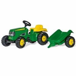 Rolly Toys rollyKid Traktor John Deere z przyczepką