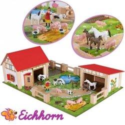 EICHHORN Drewniana FARMA Zwierzęta
